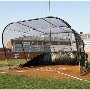 Big Bubba Batting Cage Portable Baseball Hitting Turtle