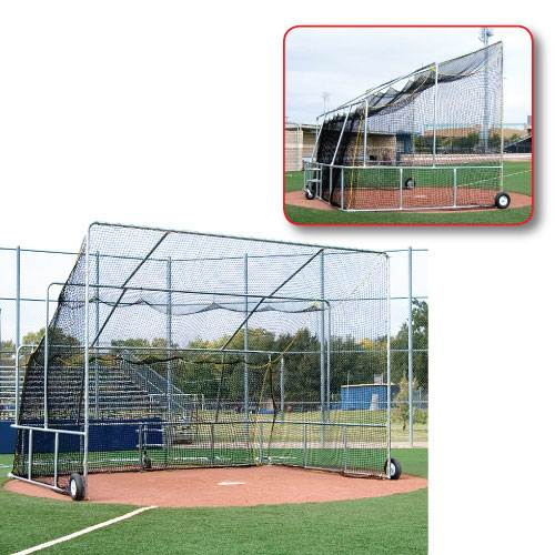 basic portable baseball turtle budget batting cage