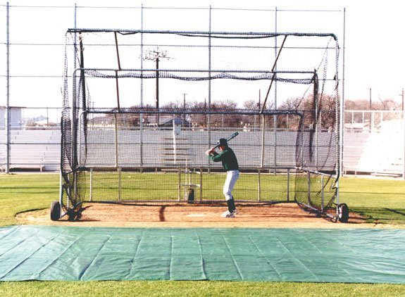 basic rolling baseball turtle budget batting cage