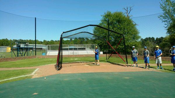 Portable Batting Turtle Pitchers View